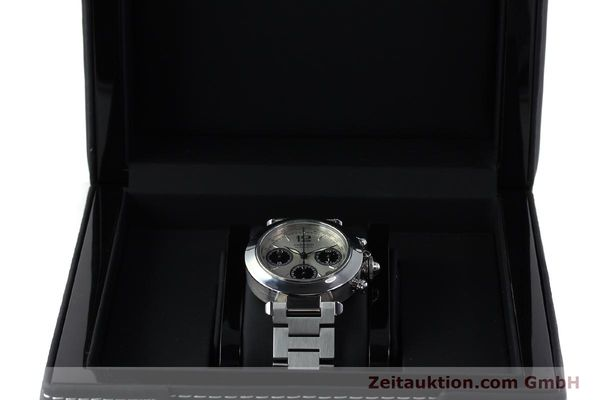 Used luxury watch Cartier Pasha chronograph steel automatic Kal. 047 ETA 2894-2 Ref. 2412  | 152419 07