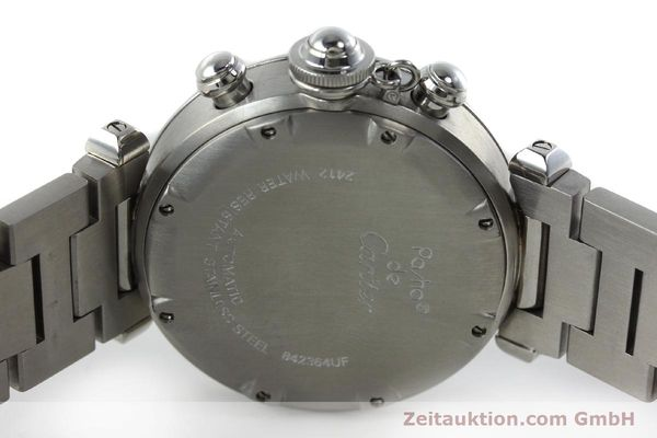 Used luxury watch Cartier Pasha chronograph steel automatic Kal. 047 ETA 2894-2 Ref. 2412  | 152419 08