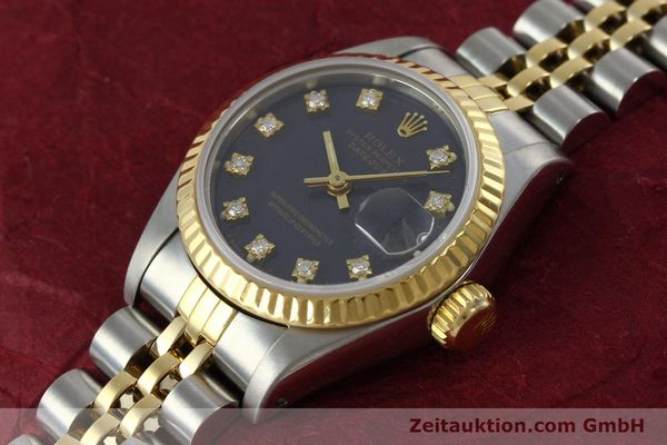 Used luxury watch Rolex Lady Datejust steel / gold automatic Kal. 2135 Ref. 69173  | 152426 01