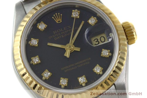 montre de luxe d occasion Rolex Lady Datejust acier / or  automatique Kal. 2135 Ref. 69173  | 152426 02