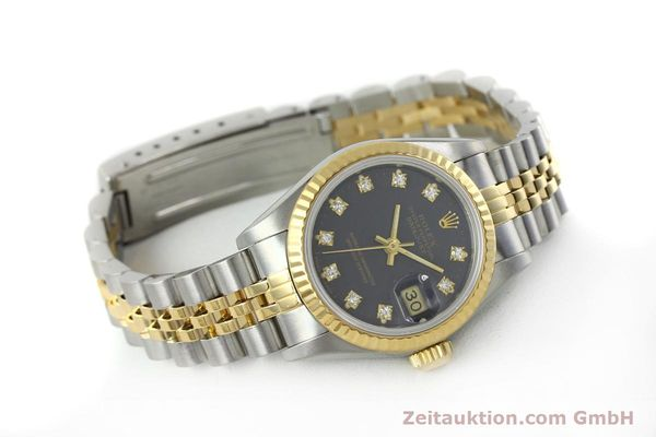 montre de luxe d occasion Rolex Lady Datejust acier / or  automatique Kal. 2135 Ref. 69173  | 152426 03