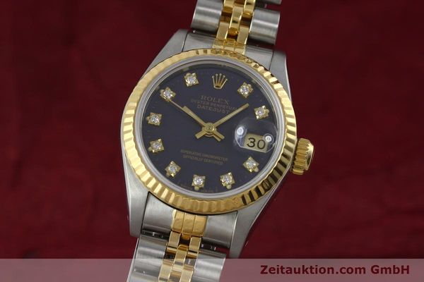 Used luxury watch Rolex Lady Datejust steel / gold automatic Kal. 2135 Ref. 69173  | 152426 04