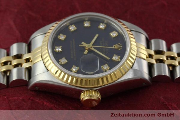 montre de luxe d occasion Rolex Lady Datejust acier / or  automatique Kal. 2135 Ref. 69173  | 152426 05