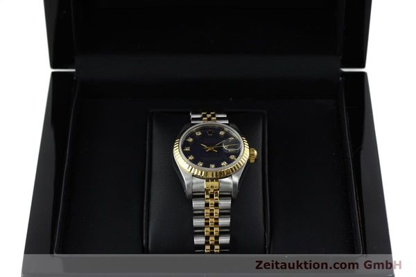 montre de luxe d occasion Rolex Lady Datejust acier / or  automatique Kal. 2135 Ref. 69173  | 152426 07