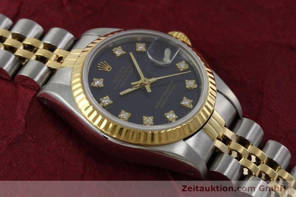 Used luxury watch Rolex Lady Datejust steel / gold automatic Kal. 2135 Ref. 69173  | 152426 15