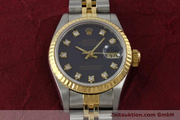 montre de luxe d occasion Rolex Lady Datejust acier / or  automatique Kal. 2135 Ref. 69173  | 152426 16