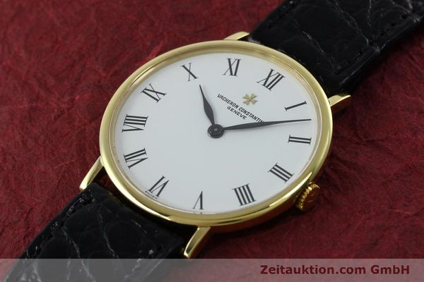 Used luxury watch Vacheron & Constantin * 18 ct gold manual winding Kal. 1015 Ref. 39029  | 152427 01