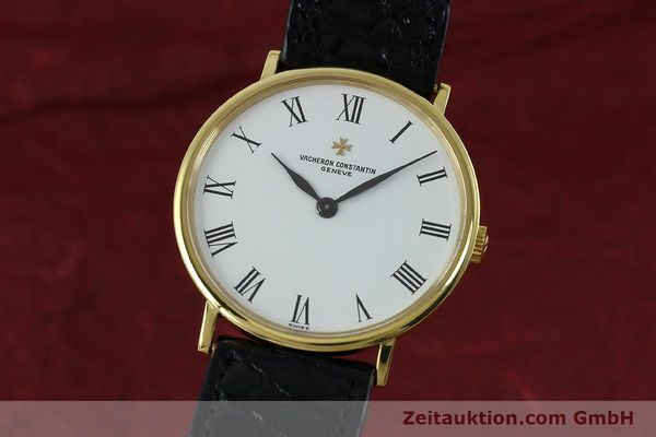 Used luxury watch Vacheron & Constantin * 18 ct gold manual winding Kal. 1015 Ref. 39029  | 152427 04