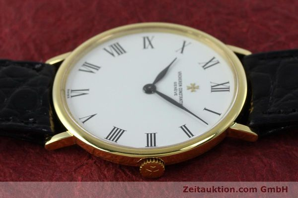 Used luxury watch Vacheron & Constantin * 18 ct gold manual winding Kal. 1015 Ref. 39029  | 152427 05