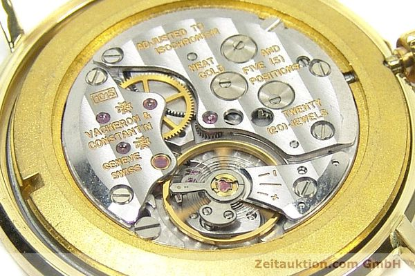 Used luxury watch Vacheron & Constantin * 18 ct gold manual winding Kal. 1015 Ref. 39029  | 152427 11