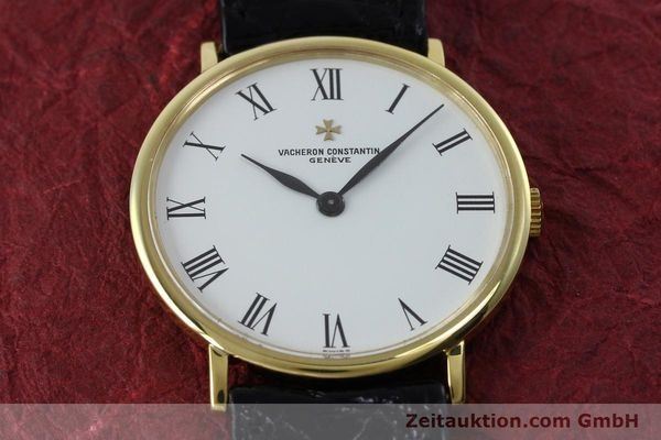 Used luxury watch Vacheron & Constantin * 18 ct gold manual winding Kal. 1015 Ref. 39029  | 152427 15