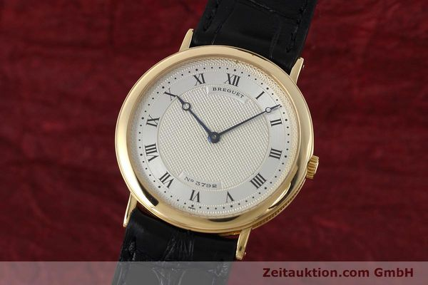 montre de luxe d occasion Breguet * or 18 ct automatique Ref. 30311  | 152430 04