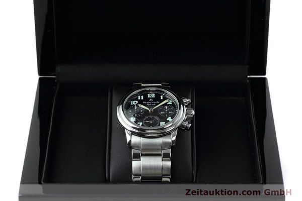 Used luxury watch Blancpain Leman chronograph steel automatic Kal. F 185  | 152431 07