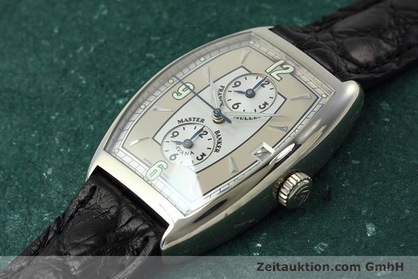 Used luxury watch Franck Muller Master Banker 18 ct white gold automatic Kal. 2800 Ref. 2852MB HY  | 152435 01