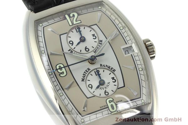 Used luxury watch Franck Muller Master Banker 18 ct white gold automatic Kal. 2800 Ref. 2852MB HY  | 152435 02