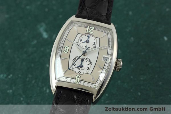 Used luxury watch Franck Muller Master Banker 18 ct white gold automatic Kal. 2800 Ref. 2852MB HY  | 152435 04