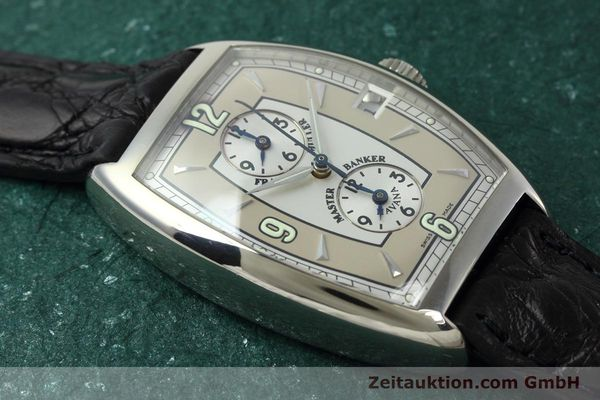 Used luxury watch Franck Muller Master Banker 18 ct white gold automatic Kal. 2800 Ref. 2852MB HY  | 152435 15