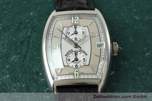 Used luxury watch Franck Muller Master Banker 18 ct white gold automatic Kal. 2800 Ref. 2852MB HY  | 152435 16