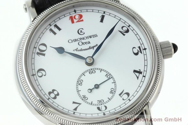 Used luxury watch Chronoswiss Orea steel manual winding Kal. C121 Ref. CH1263  | 152444 02