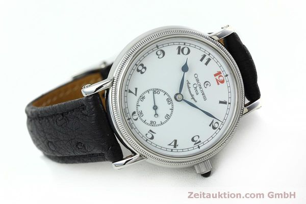 Used luxury watch Chronoswiss Orea steel manual winding Kal. C121 Ref. CH1263  | 152444 03