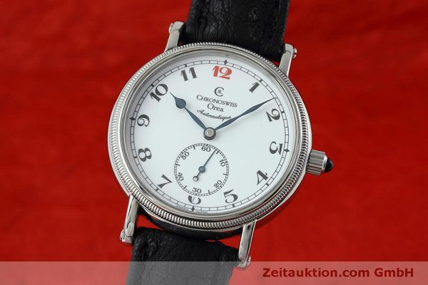 Used luxury watch Chronoswiss Orea steel manual winding Kal. C121 Ref. CH1263  | 152444 04