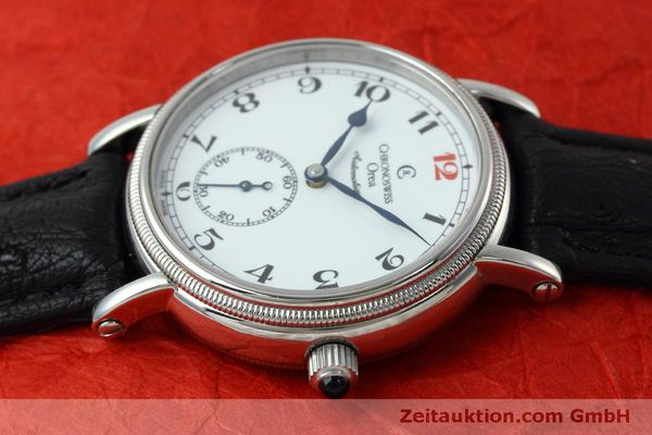 Used luxury watch Chronoswiss Orea steel manual winding Kal. C121 Ref. CH1263  | 152444 05