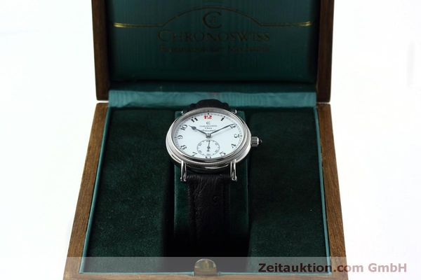 Used luxury watch Chronoswiss Orea steel manual winding Kal. C121 Ref. CH1263  | 152444 07
