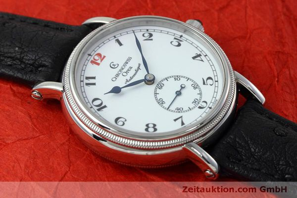 Used luxury watch Chronoswiss Orea steel manual winding Kal. C121 Ref. CH1263  | 152444 16