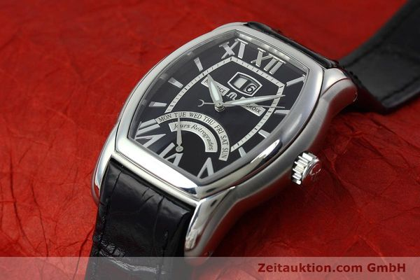 Used luxury watch Maurice Lacroix Masterpiece steel automatic Kal. ML102 ETA 2892-2 Ref. MP6119  | 152446 01