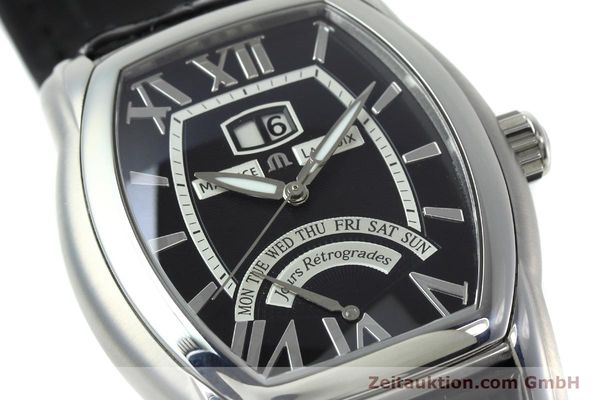 Used luxury watch Maurice Lacroix Masterpiece steel automatic Kal. ML102 ETA 2892-2 Ref. MP6119  | 152446 02