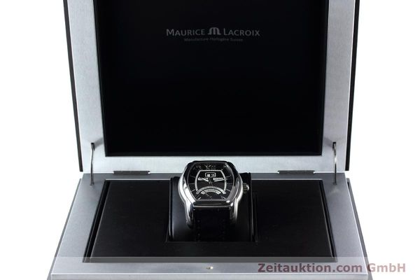 Used luxury watch Maurice Lacroix Masterpiece steel automatic Kal. ML102 ETA 2892-2 Ref. MP6119  | 152446 07