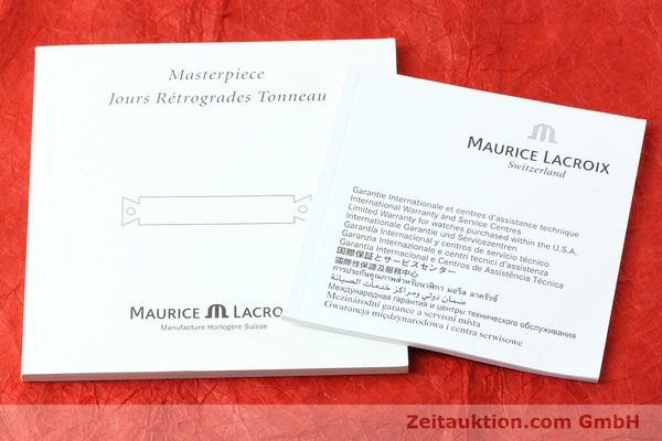 Used luxury watch Maurice Lacroix Masterpiece steel automatic Kal. ML102 ETA 2892-2 Ref. MP6119  | 152446 13