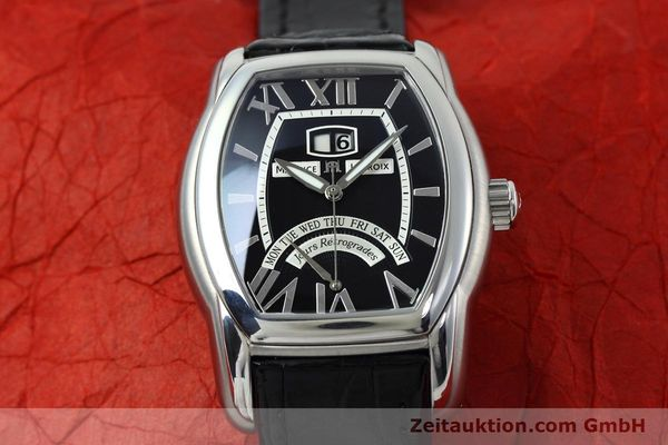 Used luxury watch Maurice Lacroix Masterpiece steel automatic Kal. ML102 ETA 2892-2 Ref. MP6119  | 152446 17
