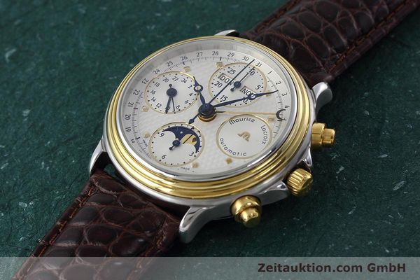 Used luxury watch Maurice Lacroix Phase de Lune  steel / gold automatic Kal. ETA 7751 Ref. 02336  | 152447 01