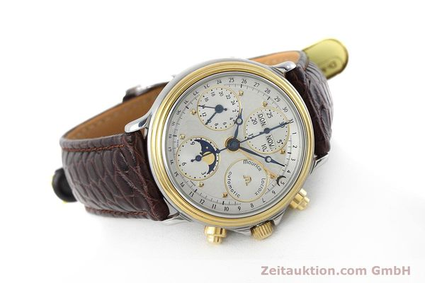Used luxury watch Maurice Lacroix Phase de Lune  steel / gold automatic Kal. ETA 7751 Ref. 02336  | 152447 03