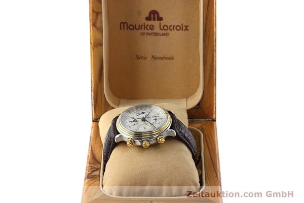 Used luxury watch Maurice Lacroix Phase de Lune  steel / gold automatic Kal. ETA 7751 Ref. 02336  | 152447 07