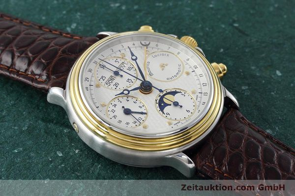 Used luxury watch Maurice Lacroix Phase de Lune  steel / gold automatic Kal. ETA 7751 Ref. 02336  | 152447 13