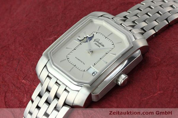 Used luxury watch Glashütte Senator steel automatic Kal. GUB 39-43 Ref. 39-43-04-04-04  | 152449 01