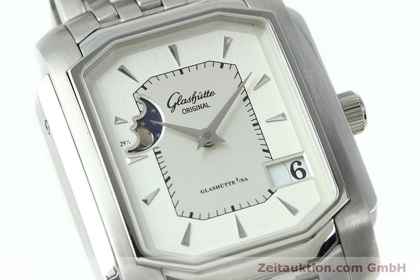 Used luxury watch Glashütte Senator steel automatic Kal. GUB 39-43 Ref. 39-43-04-04-04  | 152449 02