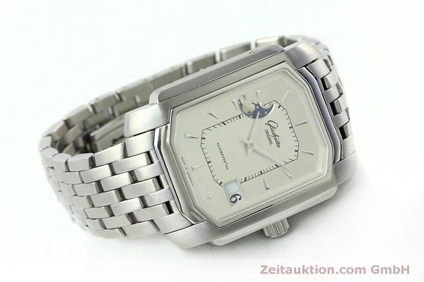 Used luxury watch Glashütte Senator steel automatic Kal. GUB 39-43 Ref. 39-43-04-04-04  | 152449 03