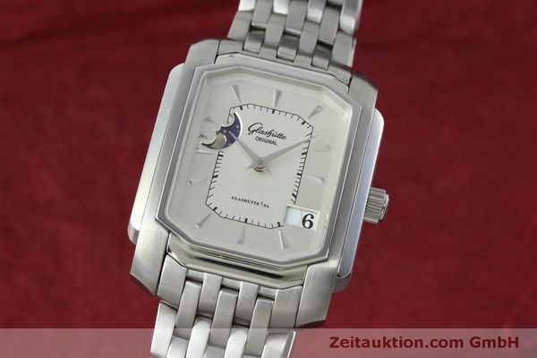 Used luxury watch Glashütte Senator steel automatic Kal. GUB 39-43 Ref. 39-43-04-04-04  | 152449 04