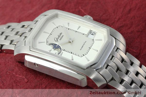 Used luxury watch Glashütte Senator steel automatic Kal. GUB 39-43 Ref. 39-43-04-04-04  | 152449 15