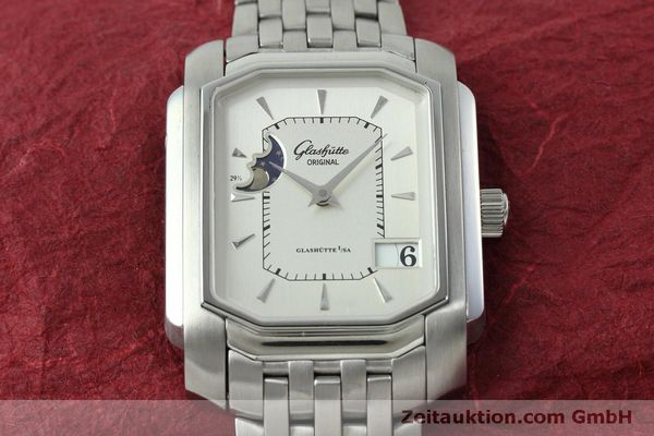 Used luxury watch Glashütte Senator steel automatic Kal. GUB 39-43 Ref. 39-43-04-04-04  | 152449 16