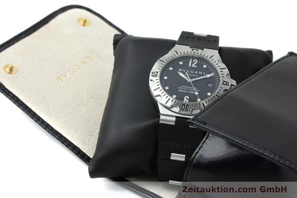Used luxury watch Bvlgari Diagono steel automatic Kal. 220 Ref. SD40S  | 152459 07
