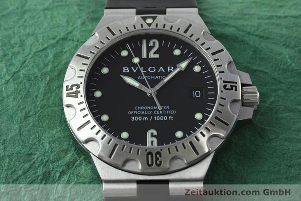 Used luxury watch Bvlgari Diagono steel automatic Kal. 220 Ref. SD40S  | 152459 14