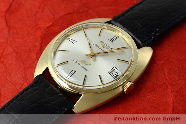 Used luxury watch Longines Ultra Chron 18 ct gold automatic Kal. 431 Ref. 8072-2  | 152460 01