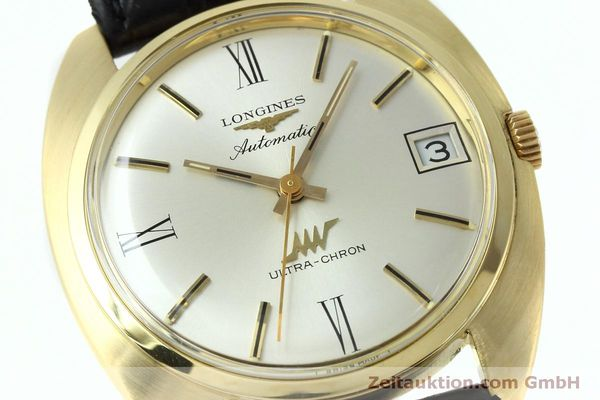 Used luxury watch Longines Ultra Chron 18 ct gold automatic Kal. 431 Ref. 8072-2  | 152460 02