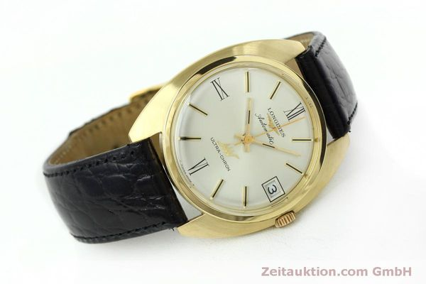 Used luxury watch Longines Ultra Chron 18 ct gold automatic Kal. 431 Ref. 8072-2  | 152460 03