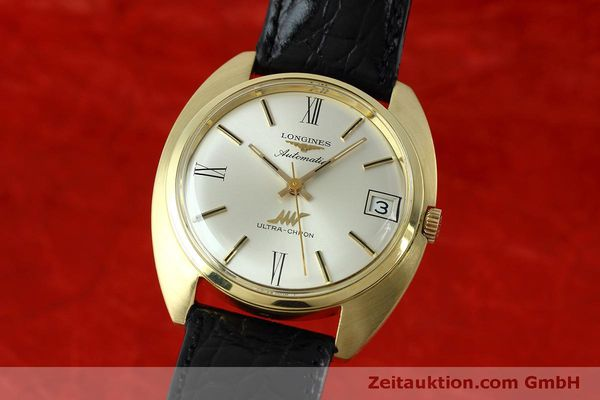 Used luxury watch Longines Ultra Chron 18 ct gold automatic Kal. 431 Ref. 8072-2  | 152460 04