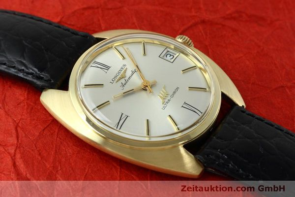 Used luxury watch Longines Ultra Chron 18 ct gold automatic Kal. 431 Ref. 8072-2  | 152460 13